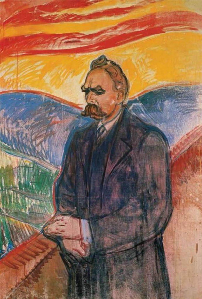 Ο Φρίντριχ Νίτσε, σε πίνακα του Έντβαρτ Μουνκ / Nietzsche by Edvard Munch