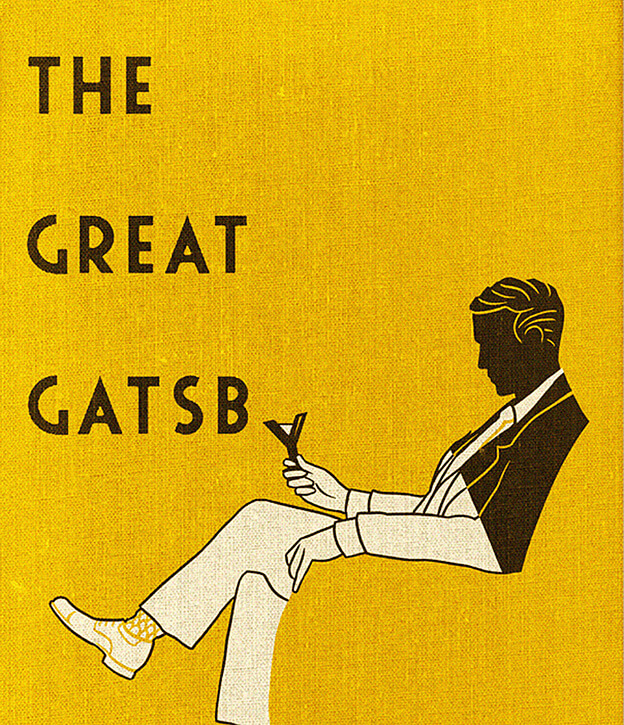 The Great Gatsby illustration / Εικονογράφηση για τον Μεγάλο Γκάτσμπι