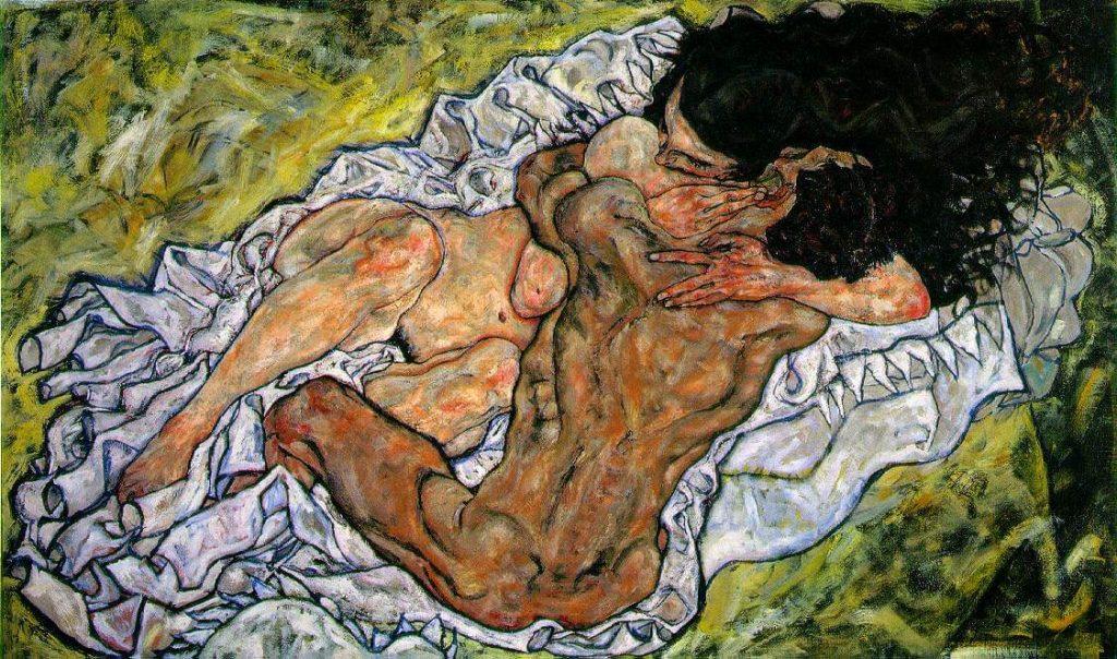 Egon Schiele, The Embrace, 1917